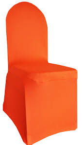 orange spandex banquet chair covers wholesale
