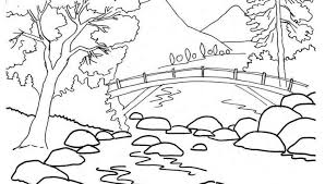 coloring pages nature www bloomscenter com