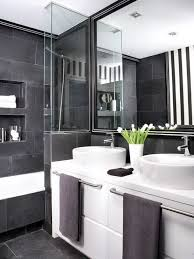 Black And White Bathroom Designs How To Master The Black Bathroom Trend Pivotech