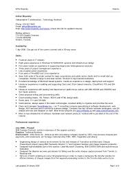 resume format for word 5 professional in duff template