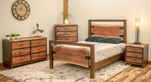 Modern Wooden Bed Frames Modern Live Edge Bed Rustic Modern Bed Contemporary Bed