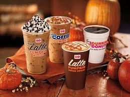 Coffee Dunkin Donut new pumpkin creme brulee coffee and lattes join dunkin donuts fall