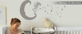 stickers chambre bébé fille fée sticker fée lunaire chambre enfant