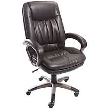 Amazoncom Harrington Executive Leather Chair Antique Brown Home