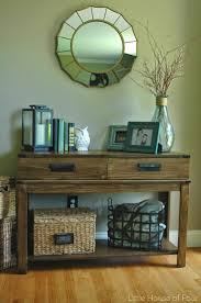 Stirring Decorating Console Table nspirations Best