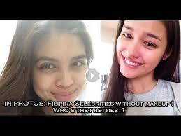 11 filipina celebrities without makeup who s the prettiest