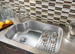 Photos Of Kitchen Sinks Kitchen Sink Materials Pros And Cons
