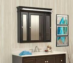 3 door medicine cabinet ergonomic 3 way mirror medicine cabinet medicine cabinets 3 door