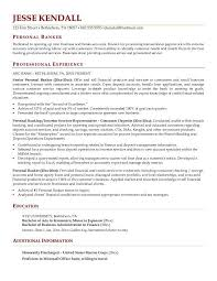 banking resume template best banking resume template exle relevant imagine sle