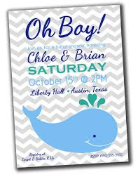 whale baby shower invitations whale baby shower theme savvy sassy