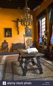 mexico guanajuato colonial home interior wealthy silver baron