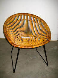 Mid Century Outdoor Chairs Mid Century Wicker Chairs 1950s Set Of 4 For Sale At Pamono