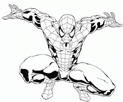 spiderman coloring pages free printable coloring pages 258023