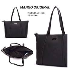 Tas Mango Orisinil e shopping story shop line