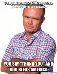 Red Forman Meme - forman god bless america