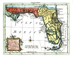 Western Florida Map by Florida And The American Revolution Revolutions Back To And British