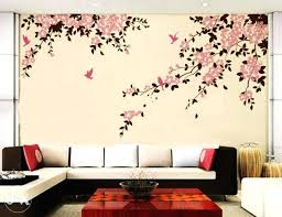 Painting Designs For Bedrooms Creative Wall Painting Ideas Bedroom Koszi Club