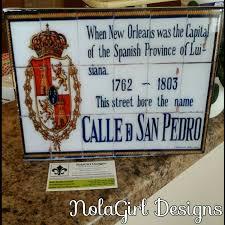 Spanish Home Decor New Orleans Louisiana French Quarter Spanish Tile Replicas