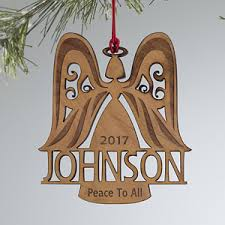 personalized ornaments family