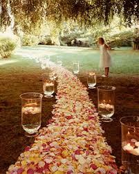 petal aisle runner diy wedding aisle runners afloral wedding