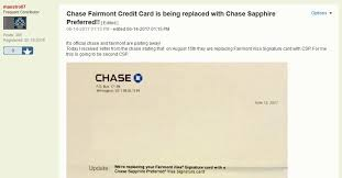 so long chase fairmont card chase force converting to chase
