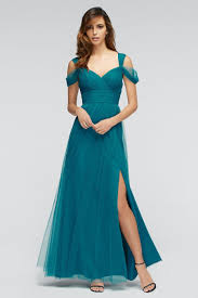 size 10 viridian watters 1309 gladiola v neck bridesmaid gown