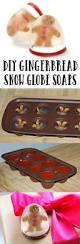 diy gingerbread men snow globe soaps