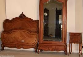 ravishing bedroom set antique french louis xv carved for sale