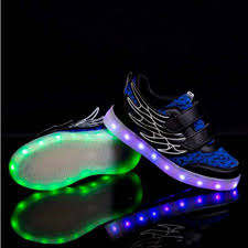 led light up shoes for boys coolingup rechargeable wings led light up shoes 7 colors usb