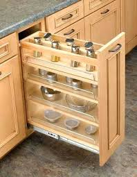 pull out racks for kitchen cabinets kitchen cabinet spice rack pull out medium size of dining narrow