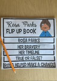 rosa parks activity that is perfect for black history month