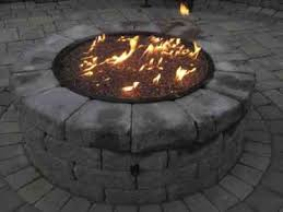 How To Make A Propane Fire Pit by How To Build A Propane Fire Pit Step By Step With Air Mixer And