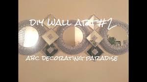 diy mirror wall art 2 room decor home decor dollar tree