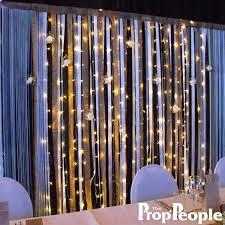 ribbon backdrop satin hessian and ribbon backdrop