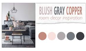 Room Decor Inspiration Blush Gray Copper Room Decor Inspiration The Pixel Odyssey
