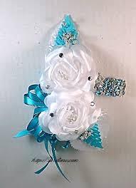 Turquoise Corsage Http Sandimw Com Sitepics Silkcorsage Ivorysilver Jpg Corsage