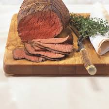 thanksgiving roast beef recipe easy and inexpensive roast beef ricardo