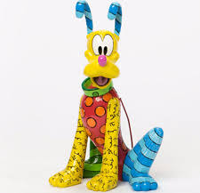 enesco disney britto pluto figurine 8 25 4037546 ebay