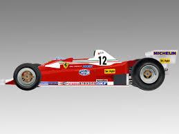 ferrari prototype f1 f1 1978 312t3 3d turbosquid 1202389