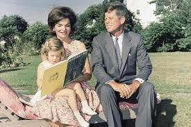 john f kennedy children with kennedy family copyright claims letters from jackie kennedy