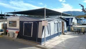 5 Berth Caravan With Awning Lmc Caravan U0026 Awning For Sale On Camping Villamar Campsite