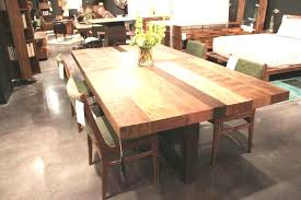 butcher block table designs butcher block dining room table amazing 50 design ideas bench within