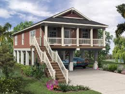 elevated florida house plans raised beach house plans unique home
