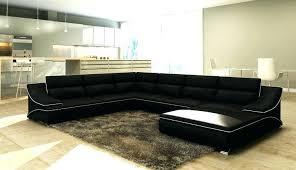 canapé cuir noir design entretien canape cuir noir comment nettoyer et entretenir le