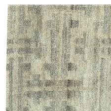 Modern Tibetan Rugs by Terra Rug In Natural Wool N11228 By Doris Leslie Blau