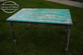 Teal Dining Table by Crazy Layered Dining Room Table Figuring Out Fabulous
