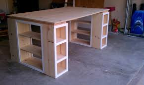 sunshiny fing craft table and storage home design ideas for fing
