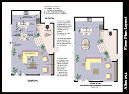 House Layout Program kitchen archicad cad autocad drawing plan 3d portfolio interior