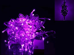christmas purple led christmas lights green wire blue and dark