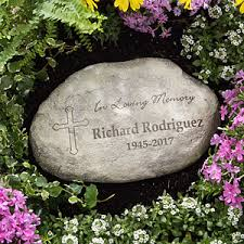 personalized memorial stones personalized memorial garden stones in loving memory